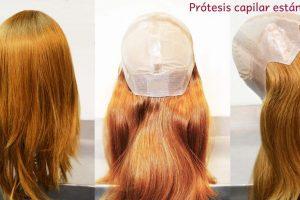prótesis capilares naturales estándar